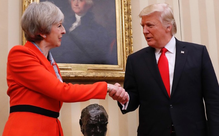 MAY AND TRUMP THE SPECIAL RELATIONSHIP